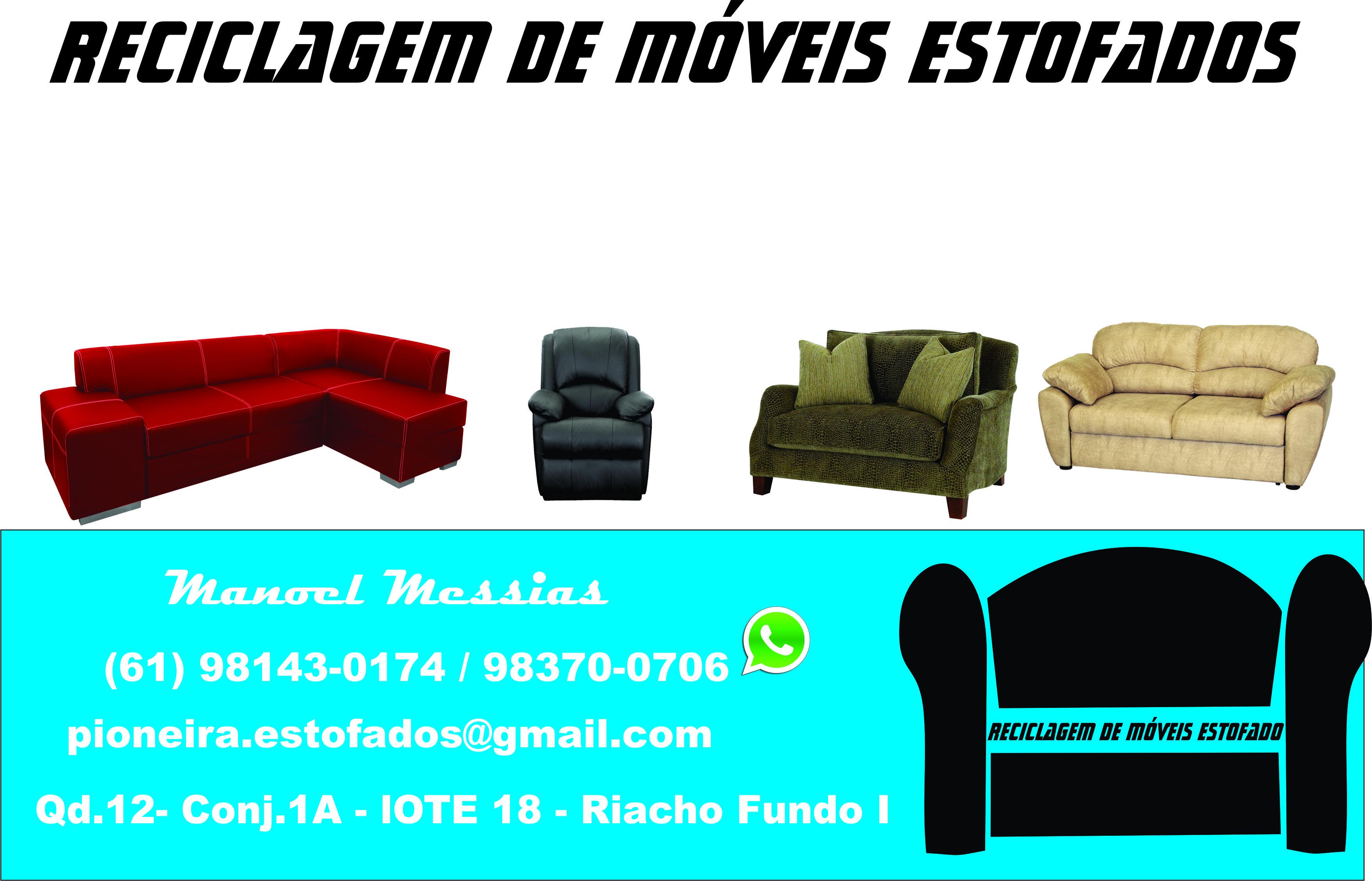 RECICLAGEM DE MOVEIS ESTOFADOS