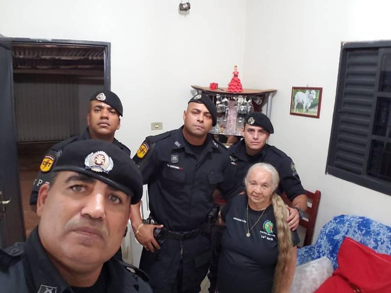 Equipe CPT 90 composta por 1° SGT Geraci, CB J. Neto, CB Dheymes e SD Silva Dias