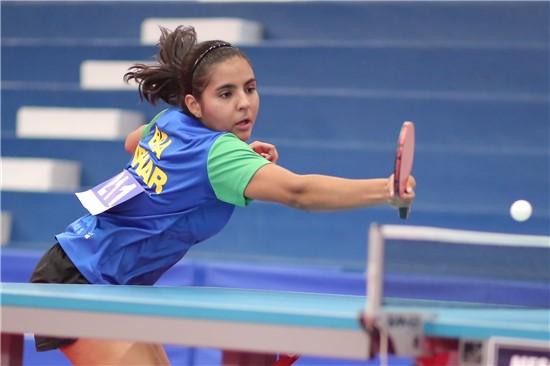 Meninas mostram força no primeiro dia e garantem vaga na semifinal do Sul-Americano Adulto