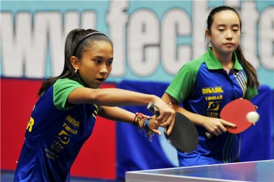 Brasil termina em quarto lugar no torneio de equipes feminino do Sul-Americano Adulto